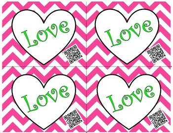 Valentine's Day Cards Mega Bundle using QR Codes
