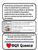 Valentine's Day Cards (Chevron/Sheep) with Fun QR Codes