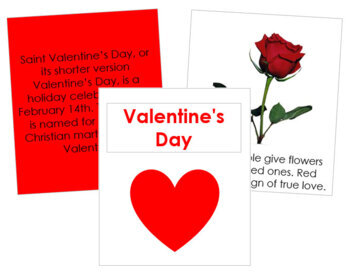 Valentine's Day Cards and Booklet