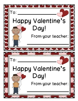 Valentine's Day Cards and Homework Passes