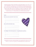 Valentine's Day Cards and Snack Exchange Package