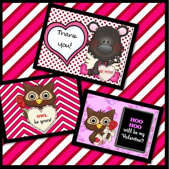 Valentine's Day Cards and Thank You Cards