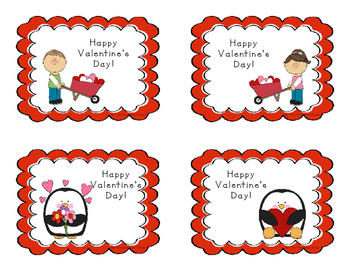 Valentine's Day Cards for Teachers to give to their students!
