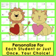 Editable Valentines -  Personalize for Students Year After Year!