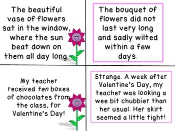 Valentines Day Cause and Effect Literacy Center Activities Reading Comprehension
