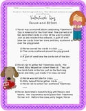 Valentine's Day: Cause and Effect Practice