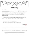Valentines Day Celebration Letter Home
