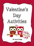 Valentine's Day Centers