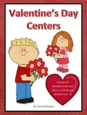 Valentine's Day Centers – 22 Printable Activities for Pre K – 2 – Ready to go!