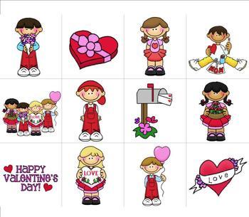 Valentine's Day Centers Workstations Pre-K & Kindergarten