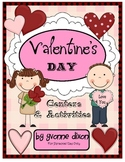 Valentine's Day Centers and Activities with Tic-Tac-Toe Rubrics