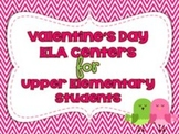 Valentine's Day Centers for Upper Elementary Students
