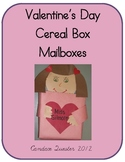 Valentine's Day Cereal Box Mailboxes