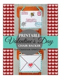 Valentine's Day Craft and Letter Writing Activity