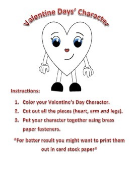 Valentine's Day Character