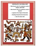 Chocolate & Aztecs & Cortez Legends-Reading Comprehension