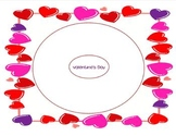 Valentine's Day Circle Map