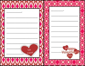 Valentine's Day Class Notes