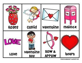 Valentine's Day Classroom Bingo Set