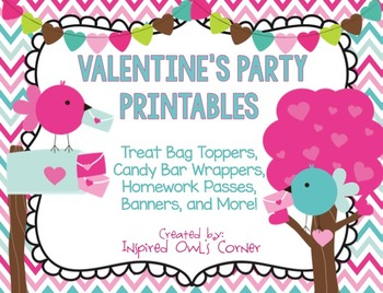 Valentine's Day Classroom Party Printables