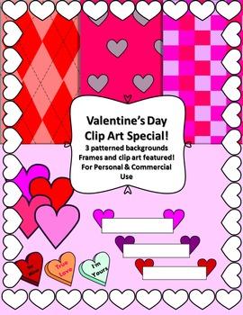 Valentine's Day- Clip ART