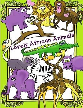 African Animal Clip Art