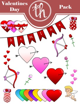 Valentines Day Clip Art Pack