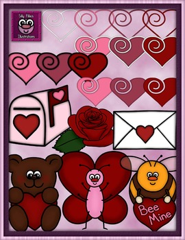 Valentine's Day Clip Art - Pilly Pack