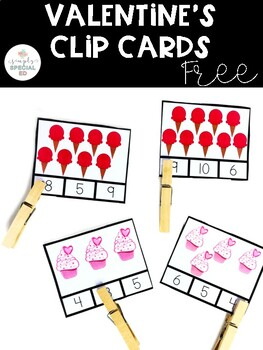 Valentine's Day Clip Cards