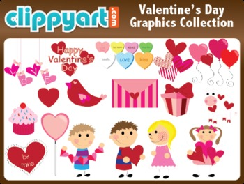 Valentine's Day Clipart Collection