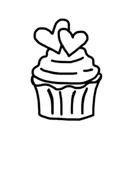 Valentines Day ALPHABET Font & Clipart Color & Black White Hearts Clip Art