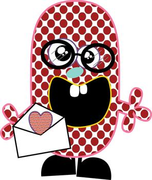 Valentines Day Clipart Monsters