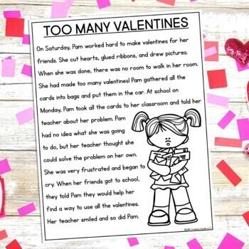 Valentine's Day Close Reading Passage