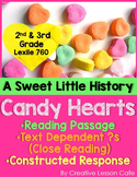Valentine's Day Close Reading Activities for 2nd and 3rd Grade