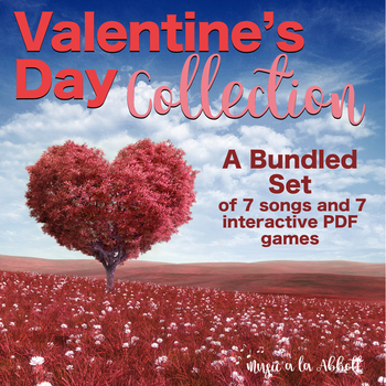 Valentine's Day Collection: PDF's and PowerPoints for the