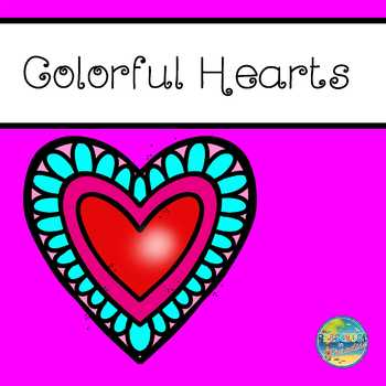 Valentine's Day Games --Colorful Hearts