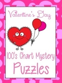Valentine's Day Color By Number    100s Chart