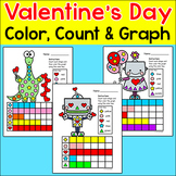 Valentine's Day Activities: Counting and Graphing Worksheets