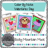 Valentines Day Color by Note