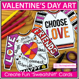 Valentines Day Art Activity | Make Friendship Cards