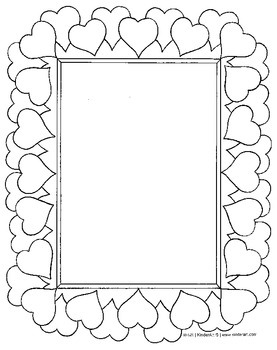 Valentine S Day Coloring Pages And Printables By Kinderart Tpt