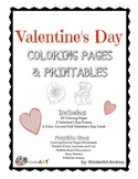 Valentine's Day Coloring Pages and Printables