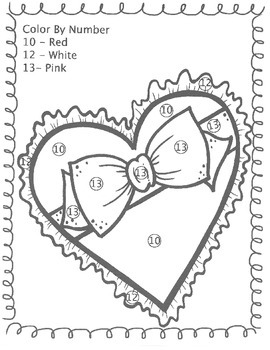 Valentine's Day Coloring Pages and Sight Word by Learning ...