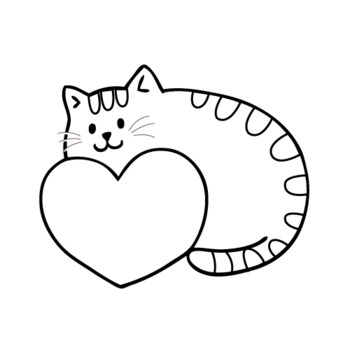 4 free Valentine's Day coloring pages for kids   350x350