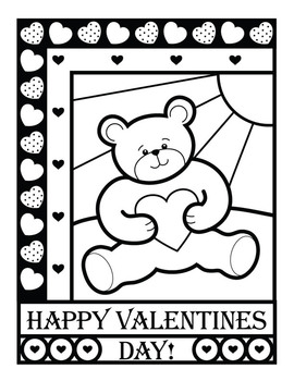 Valentine's Day Coloring Sheets and Printables