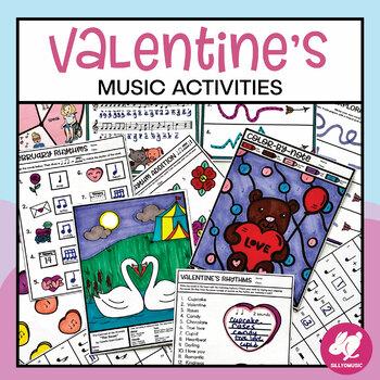 Valentine's Day Music Worksheets