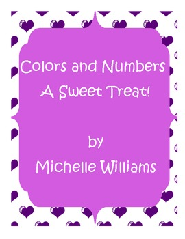Valentine's Day Colors and Numbers