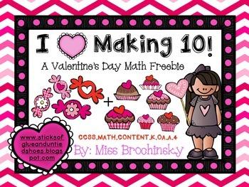 Valentine's Day Combinations of Ten