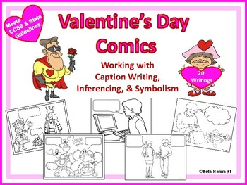 Valentine's Day Comics: Working with Inferencing, Dialogue