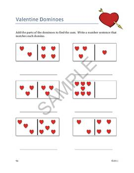 """""""Valentine's Day"""" Common Core Alniged Math and Literacy Unit -ACTIVboard EDITION"""